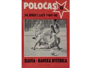 POLOČAS SLAVIA vs. Bánská Bystrica 1989 90