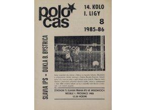 POLOČAS SLAVIA IPS vs. Dukla B. Bystrica 1985 86