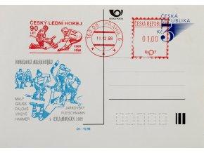Korespondenční lístek , Český lední hokej 90 let