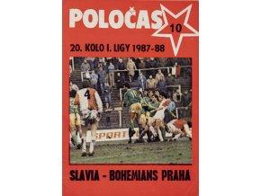 POLOČAS SLAVIA vs. Bohemians Praha, 1987 88