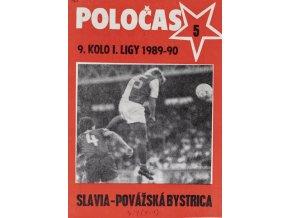 POLOČAS SLAVIA vs. Povážská Bystrica, 1989 90