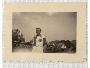 Dobová fotografie SLAVIA v Jičíně I