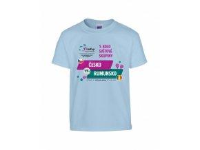 Dětské tričko FED CUP 2019, CZE x ROU