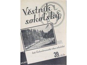 Věstník sokolský, 1934 27Věstník sokolský, 193439
