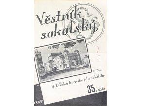 Věstník sokolský, 1934 27Věstník sokolský, 193435
