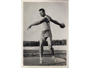 Věstník sokolský, 1934 27Fotopohlednice, Ludvík Daněk (1)