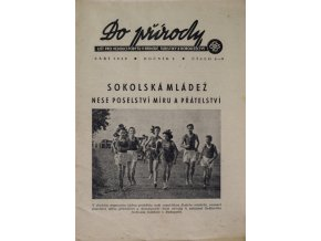 Brožura Sokol, Do přírody, 1949