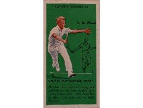 Tennis USA Davis Cup Wood Original 1930's Vintage Action Card III sport antique 30 7 17 (65)