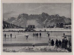Kartička Olympia, Cortina d'Ampezzo, 1964 , Rychlobruslařský ovál (1)
