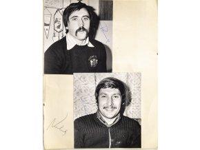 Fotografie s podpisem, Panenka, Dobiáš, Nehoda, 1980 (1)