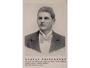Dopisnice Gustav Frištenský (1)