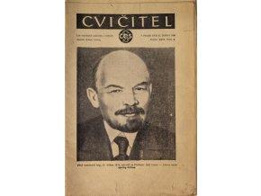 Sokol, Cvičitel, Ročník XXVI, Číslo 8, 1950