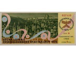 Los Věcná loterie Československé spartakiády, D,1975 (3)