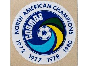 Samolepka fotbal, Cosmos, North American Champions 1978,79,80