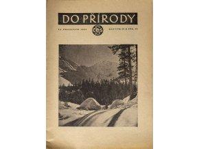 Brožura Sokol, Do přírody, 121950
