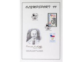 Pamětní list Olympsport, Ořovský, 1999