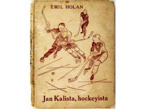 Kniha Jan Kalista, hockeyista (1)