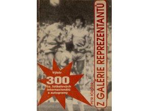 Kniha 300 čs. fotbalových internacionálů s autogramy (1)