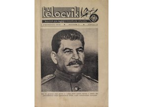 Brožura Sokol, generalisimus Džuga slaví 70. narozeniny, 1949