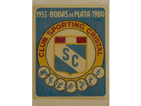 Samolepka na sklo Club Sporting Cristal 1955 1980