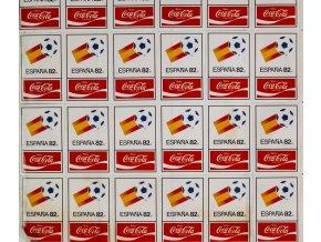 Samolepky Espana 82, Coca Cola, soubor