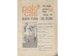 POLOČAS SLAVIA ZVL ŽILINA, 19761977 (1)