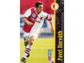 Kartička fotbal 1998, SK Slavia Praha, Pavel Horváth, 96100 (1)