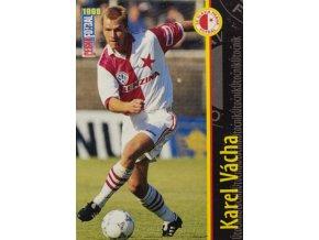 Kartička fotbal 1998, SK Slavia Praha, Karel Vácha, 96108 (1)