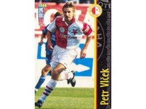 Kartička fotbal 1998, SK Slavia Praha, Petr Vlček, 95108 (1)
