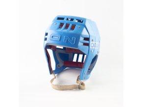 Hokejová přilba OKULA, modrá (22)