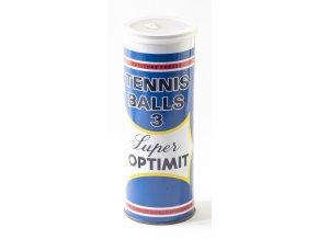 Tenisové míče prázdná plechovka SUPER Optimit 1983 (7)