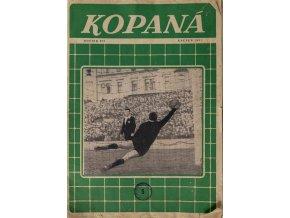 Časopis Kopaná, 51957 (1)