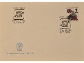 Obálka příležitosní SPARTA 90 let 1893 1983 sport antique cervec 17 (77)