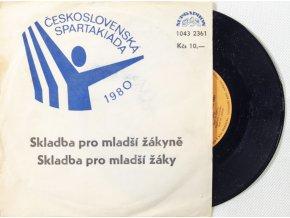 Gramofonová SP deska, Československá spartakiáda, 1980. II (3)
