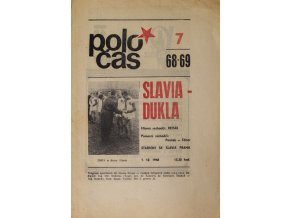 POLOČAS SLAVIA Praha vs. Dukla Praha, 1968 (1)