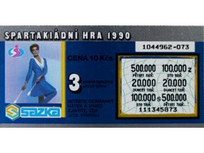 Los Spartakiádní hra 1990 II