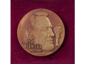 Plaketa František Plánička, 1904 1989 (3)