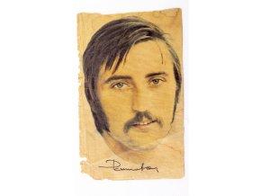 Výstřižek z novin Antonín Panenka, autogram