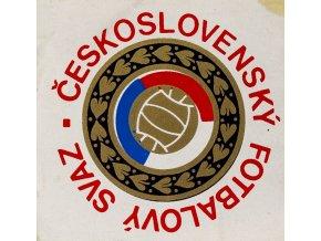 Samolepka Československý fotbalový svaz