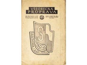 Sokol, Všeobecná průprava, Ročník I, Číslo 8, 1951