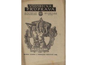 Sokol, Všeobecná průprava, Ročník I, Číslo 2 3, 1951