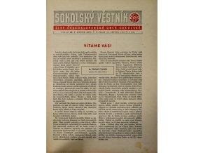 Věstník sokolský, 194825