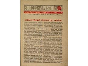 Věstník sokolský, 194817