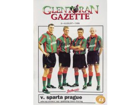 Program Glentoran v. Sparta Prague, 1996