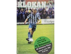 Program Klokan, FC Bohemians Praha vs. SK Třinec, 1998