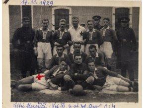 Fotografie fotbalového týmu Vel. Meziříčí, 1929 (1)