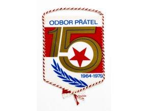 Vlajka klubová SK SLAVIA PRAHA IPS Odbor přátel 15. výročí (2)