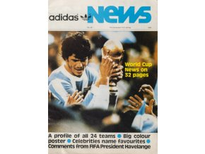 Boletín ADIDAS News, A profile of all 24 teams, Espana 82 (1)