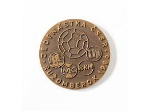 Bronzová medaile Jedenáctka ČSSR, Ružomberok 1986 (1)