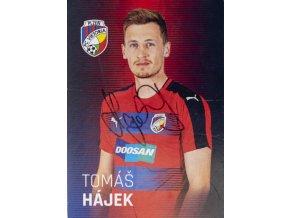Karta, autogram Tomáš Hájek, Plzeň (1)